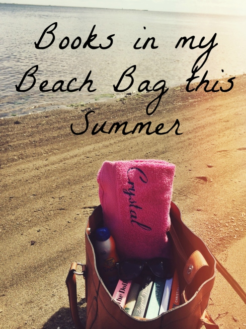 Books in my Beach Bag this Summer