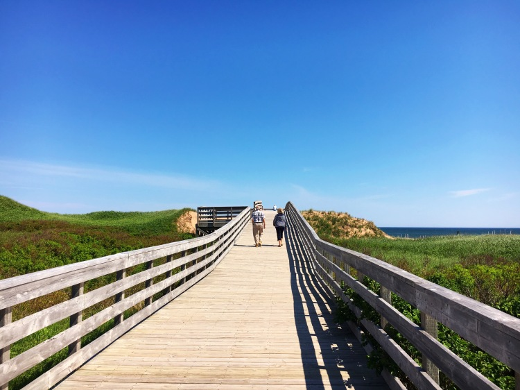 Cavendish Beach Boardwalk