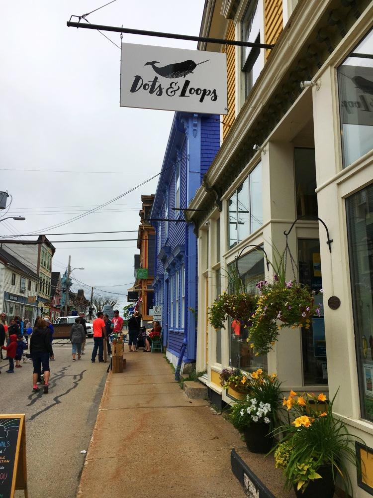 Dots and Loops - Lunenburg - Nova Scotia