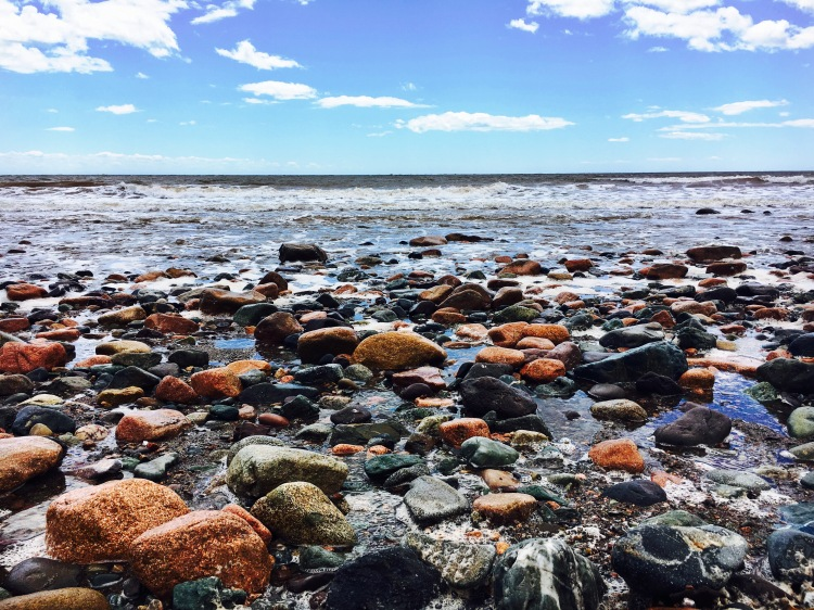 Long Beach Pebbles - Fundy Trail Parkway