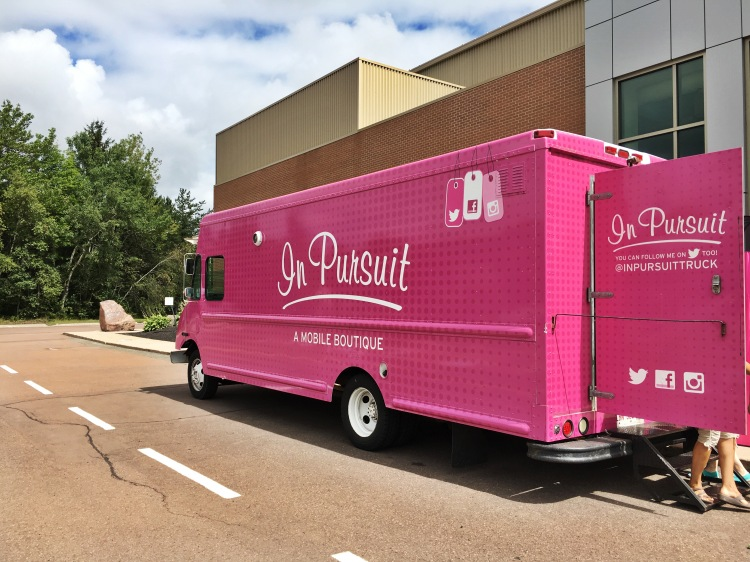 Pink Fashion Truck Saint John